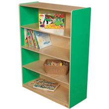 "WD12900G Green Apple™ Bookshelf, 49""H"