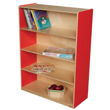 "WD12900R Strawberry Red™ Bookshelf, 49""H"