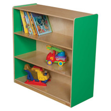 "WD12936G Green Apple™ Bookshelf, 36""H"