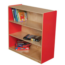 "WD12936R Strawberry Red™ Bookshelf, 36""H"