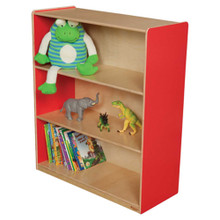 "WD12942R Strawberry Red™ Bookshelf, 42""H"