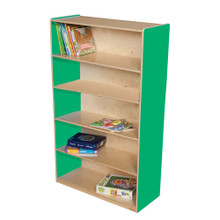 "WD12960G Green Apple™ Bookshelf, 60""H"