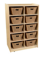 WD16109-718 Vertical Storage with (10) Baskets