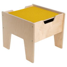 2-N-1 Activity Table with Yellow DUPLO™ Compatible Top - Fully Assembled