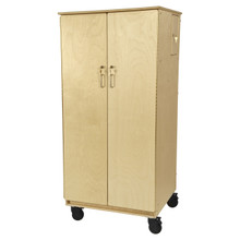 Contender Mobile Teacher's Lock-It-Up Cabinet  - RTA