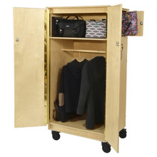 Contender Mobile Teacher's Lock-It-Up Cabinet - Assembled