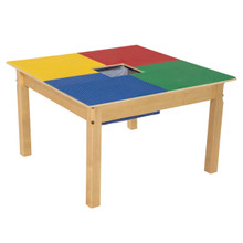 Time-2-Play Lego™ Compatible Table - Square