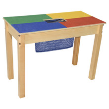 Time-2-Play Lego™ Compatible Table - Rectangle