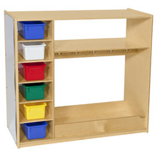 Dress-Up Storage Unit With Assorted Trays