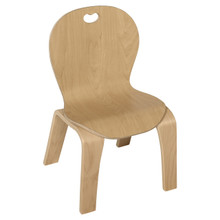 """Maple Heritage™ Bentwood Kids Chair 10"""" Seat Height"""