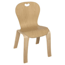 "Maple Heritage's Bentwood Kids Chair – 14"" Seat Height"