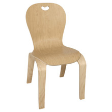 """Maple Heritage's Bentwood Kids Chair – 16"""" Seat Height"""