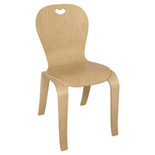 """Maple Heritage's Bentwood Kids Chair – 18"""" Seat Height"""