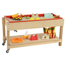 Contender Sand and Water Table with Shelf- RTA