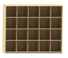 (20) Tray Extra Deep Cubby Storage