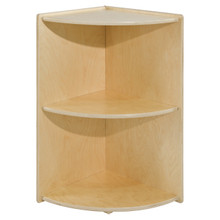 Contender Medium Corner High Shelf - Assembled