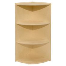 Contender Large High Corner Storage Shelf - Assembled