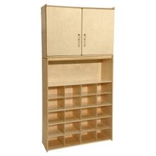 Contender 20 Tray Cubby Storage Locker and Cabinet- Assembled