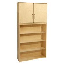 Contender 4 Shelf Storage and Cabinet - RTA
