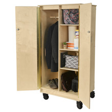 Contender Teacher's Cabinet with Adjustable Shelves- Assembled