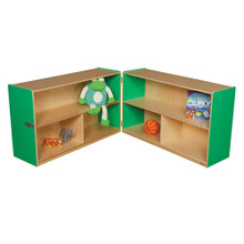 "WD13130G Green Apple™ Folding Versatile Storage Unit, 30""H"