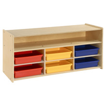 Contender 6 Assorted Bins and Shelf Organizer- RTA