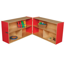 "WD13130R Strawberry Red™ Folding Versatile Storage Unit, 30""H"