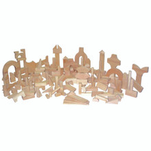 Contender Hardwood Blocks Set- 183pc