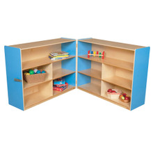 "WD13730B Blueberry™ Folding Versatile Storage Unit, 38""H"