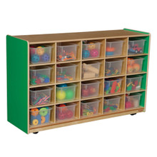WD14501G Green Apple™ 20 Tray Storage with Translucent Trays