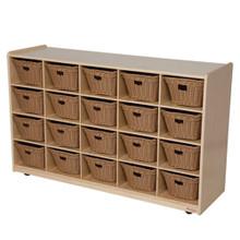 WD14509-718 20 Tray Storage w/Baskets