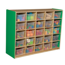 WD16001G Green Apple™ 25 Tray Storage with Translucent Trays