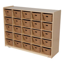 WD16009-718 25 Tray Storage with Baskets