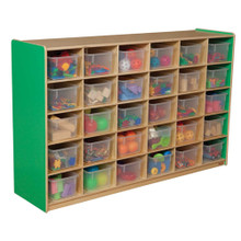WD16031G Green Apple™ 30 Tray Storage with Translucent Trays