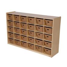 WD16039-718 30 Tray Storage with Baskets