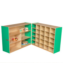 WD23639G Green Apple™ Tray & Shelf Fold Storage without Trays