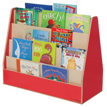 WD34200R Strawberry Red™ Double Sided Book Display