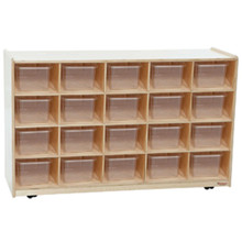WD62001 20 Tray / Shelves Island with (20) Translucent Trays