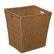 Large Plastic Wicker Basket