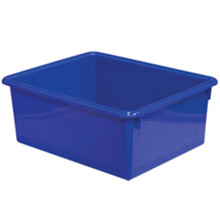 "WD78005 5"" Rectangular Letter Trays - Blue"