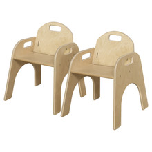 """WD80132 Woodie, 13"""" Seat Height, Carton of (2)"""