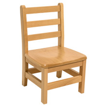 "Hardwood Ladderback 14"" Chair"