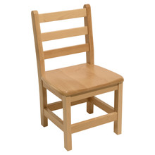"Hardwood Ladderback 16"" Chair"