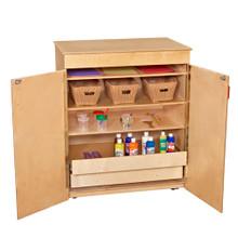 WD990327 Mobile Storage Cabinet