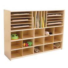 """C14009F Multi-Storage without Trays, 33-7/8""""H, Assembled"""
