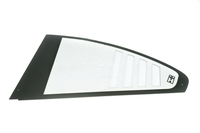 HARD Motorsport RS Style Polycarbonate Rear Windows for E46 BMW Coupe