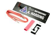 Hard Motorsport Carbon Fiber Battery Disconnect Kill Switch Kit for BMW E36 Full Kit