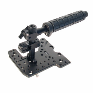 Top plate with microphone mount