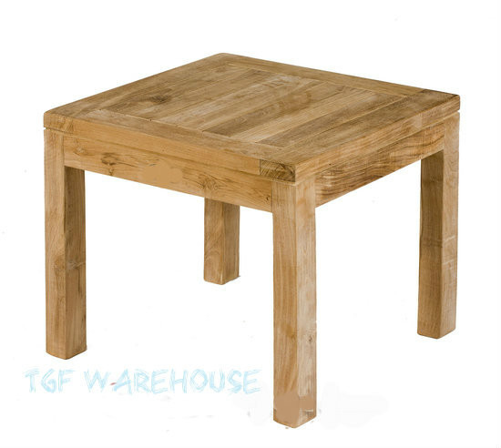 Teak Coffee Table Square 45 X 45cm Trade Price From
