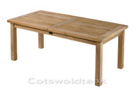 Teak Rectangular 100 x 50cm Coffee Table